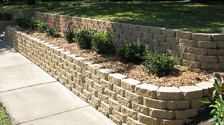 Retaining Walls Four Seasons Lawn Care Amp Landscape Plano Tx