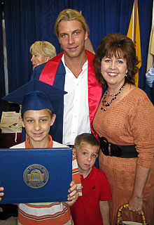 Seth's Graduation from SMU Business School