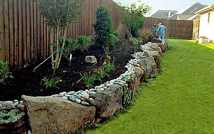 Home Landscape Beds
