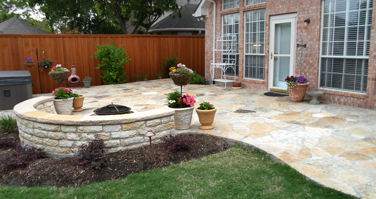 Flagstone Patio and Terrace